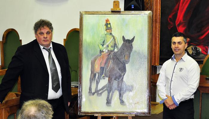 Tóth Zoltán városnak adományozott festménye-700
