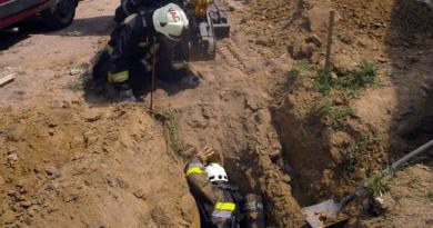 Megsérült a vezeték, ömlött a gáz, de jött a segítség