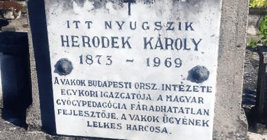 Vácott kezdte pályáját a magyar Braille-írás kialakítója