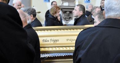 Eltemették Pálos Frigyest, sokak Frici atyáját