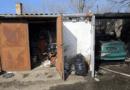 Kigyulladt egy garázs az Avar utcai garázssoron